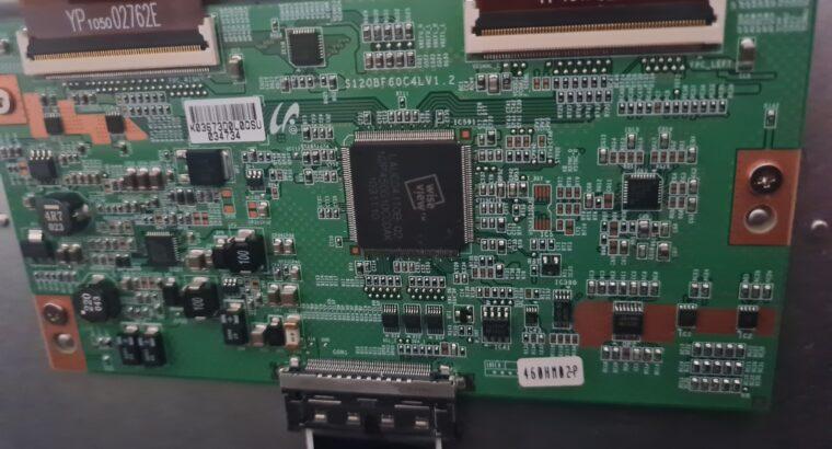 Reparer affichage tout blanc sur tv samsung